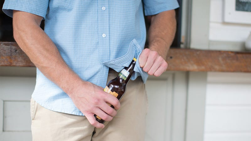 Reinforced Dress Shirts Let You Safely Open Twist-Off Bottlecaps