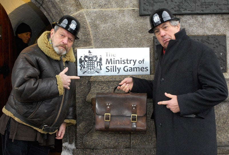 Monty Python Appoints The Ministry of Silly Games