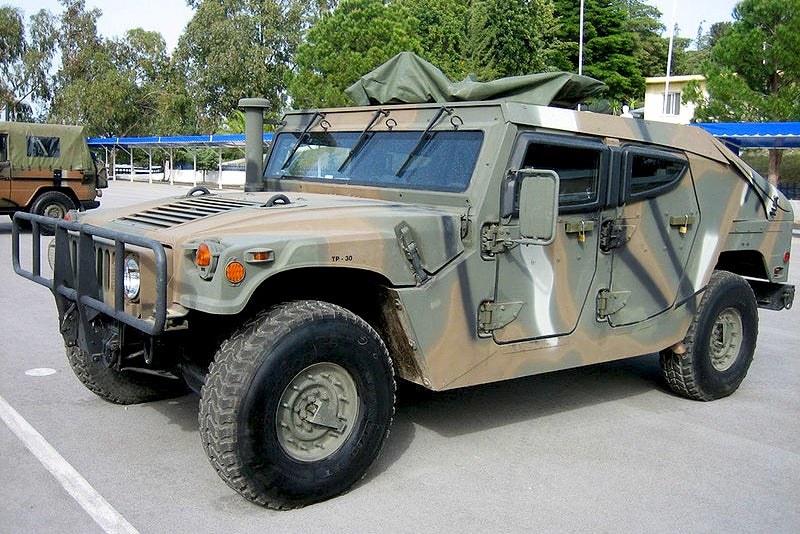 Meet Greece's Futuristic & Deadly Hummer With A Mutt-Like Pedigree