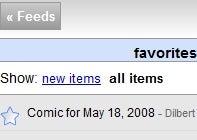 Customize Your Google Reader Sidebar