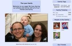 Pongyow online family scrapbooks