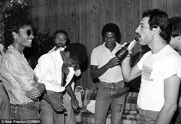 Hear Michael Jackson and Freddie Mercury Sing A Duet, 33 Years Later
