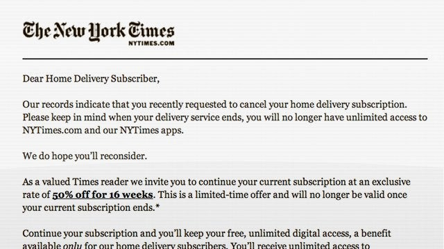 The New York Times Accidentally Spams More Than 8 Million People