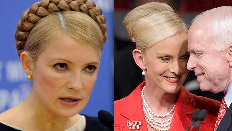 The Only Race Tighter Than Cindy McCain's Bun...