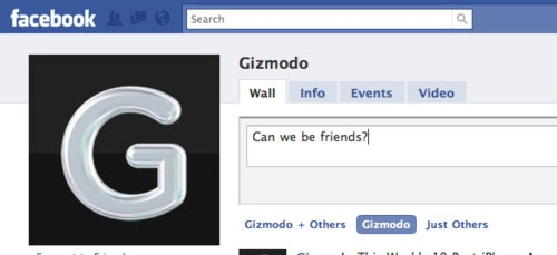 Add a Bit of Gizmodo to Your Facebook