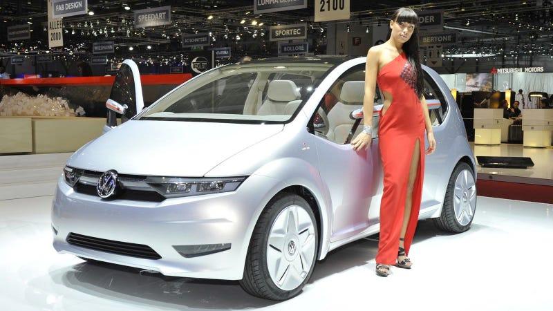 VW/Giugiaro Go! is a German microcar with an Italian axis