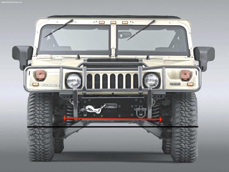 Humvee Front Axle : Hummer h axles
