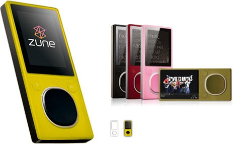 Unannounced Yellow Zune Color Found in Software