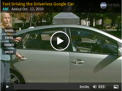 Test Driving Google's Driverless Car