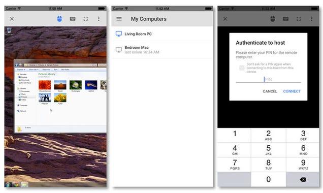 Controla tu PC desde el iPhone o el iPad con esta nueva app de Google