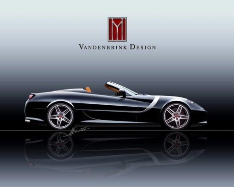 The Vandenbrink GT Convertible, For When A Sub-$2 Mil Ferrari Is An Insult