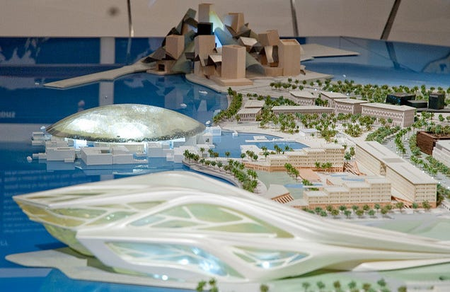 Museums and Universities Are Using Forced Labor to Build in Abu Dhabi