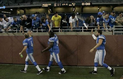 The Detroit Lions Win The Weekend