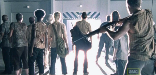 The Walking Dead deviates from the comic book...big time