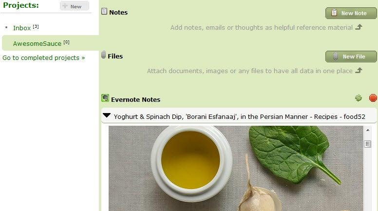 Nozbe To-Do App Integrates Evernote for Universal Capture