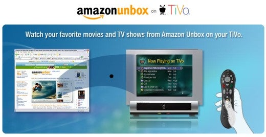 Amazon Unbox Goes Live on TiVo