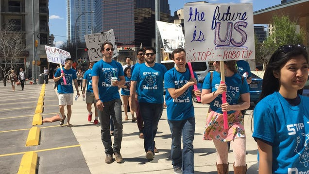 Yep, That Anti-Robot Protest At SXSW Was A Marketing Stunt [UPDATED]