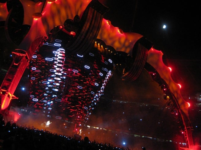 Inside U2's Behemoth 74-Ton 360° LED Concert Screen