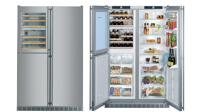 Five Zone Wine Cooling Fridge Packs Months of Liquid Dinners