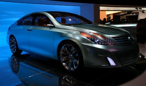 Tokyo Motor Show: Nissan Intima Concept