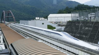 "Japan's maglev train has once again broken the world speed record. The seven-car train reached a top speed of 375 mph (603 km/h) Tuesday, breaking its own record that was set just days earlier. The ""magnetic train"" hovers above the tracks and is propelled by electrically charged magnets. The challenge now will be in building an affordable infrastructure."