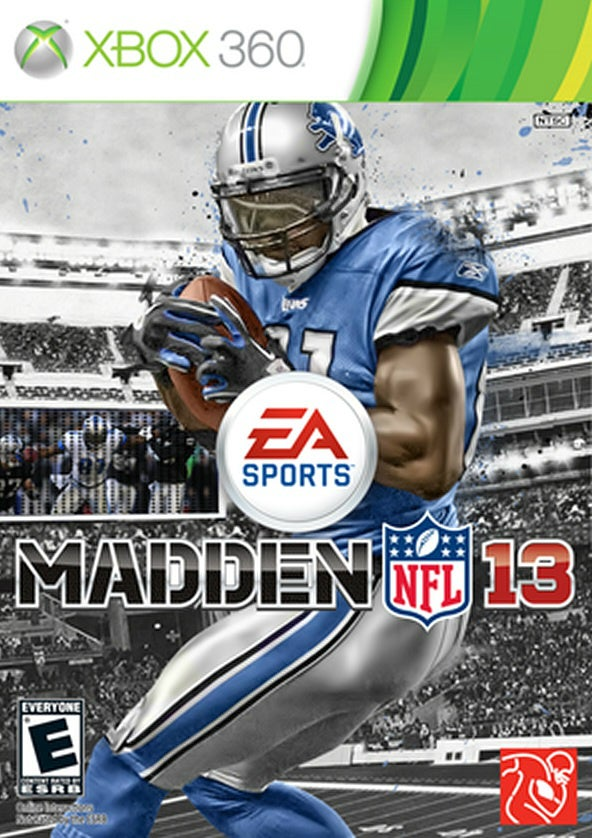 Calvin Johnson Will Be On The Cover Of Madden 13
