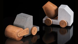 Kid-Proof Construction Toys Made From Concrete