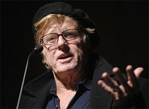 If Chosen For Obama's Cabinet, Angry Robert Redford Will Not Serve