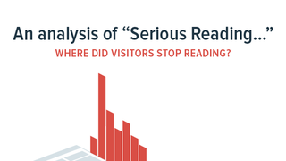 When do readers stop reading?