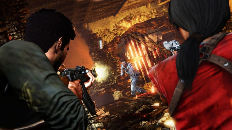 First Look At Uncharted 2: Among Thieves In Action