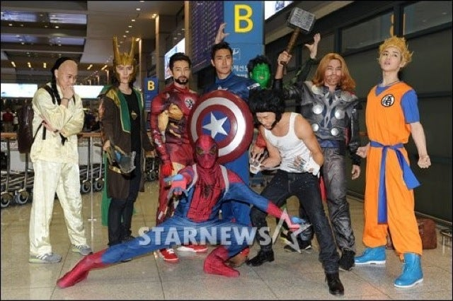 Korean Pop Bands that Cosplay Are the Best