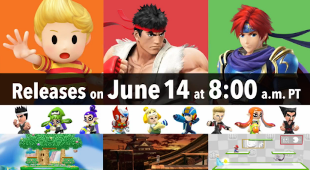How Much All Of Today's Smash Bros. DLC Costs