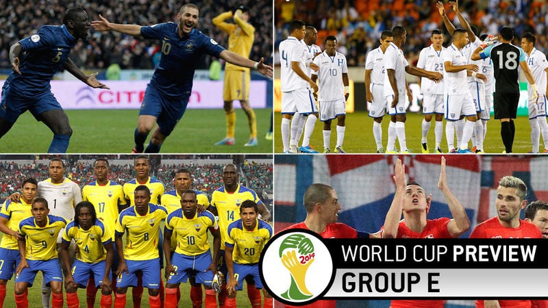 World Cup Group E Preview: We Don't Believe You, You Need More People