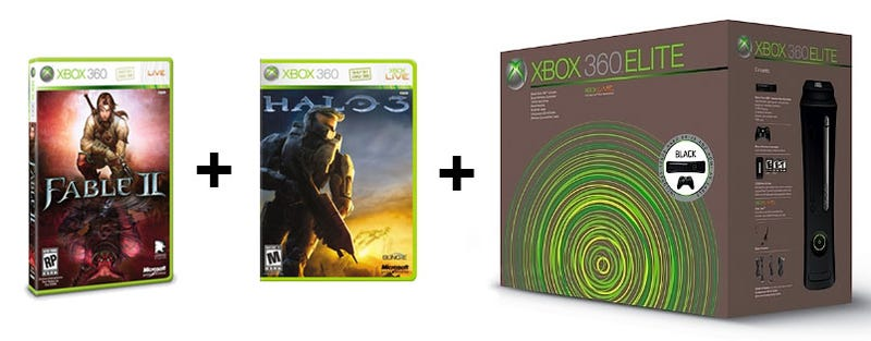 Report: New Xbox 360 Elite Bundles Up With Halo 3 & Fable II