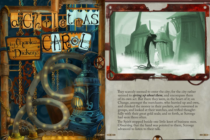 A Christmas Carol Goes Interactive and Steampunk for iPad