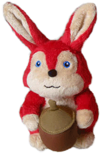 A Rare, Collectible, Plush Squirrel