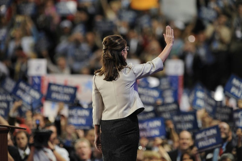 In a Terrifying Alternate Universe, Vice President Sarah Palin Claims Victory
