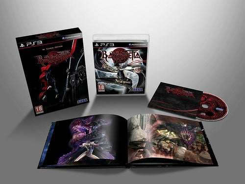 What's Inside The European Bayonetta Special Edition?