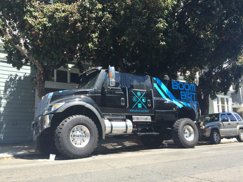"""Sign of the Times: Startup Buys Monstrous """"Extreme Truck"""""""
