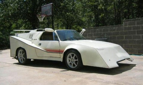 The Real Speed Racer: Modified Fiat X/19