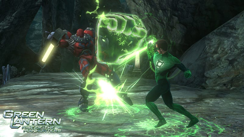 It's Not A Green Lantern Party Until The Giant Fist Shows Up