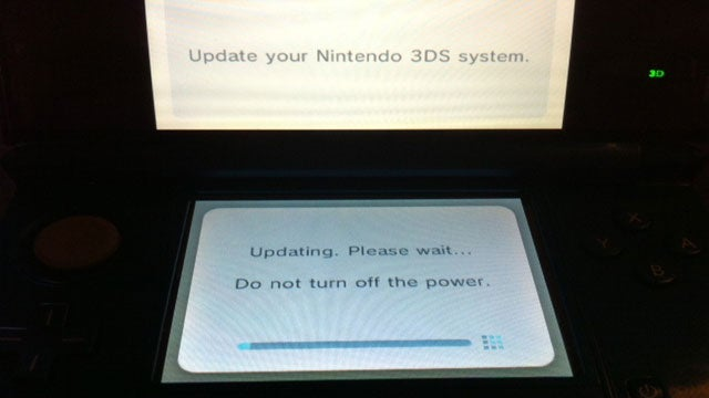 It's Time to Update Your 3DS. The eShop is Live.