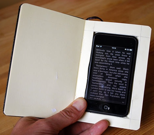 Turn Your iPhone into a Moleskine Book