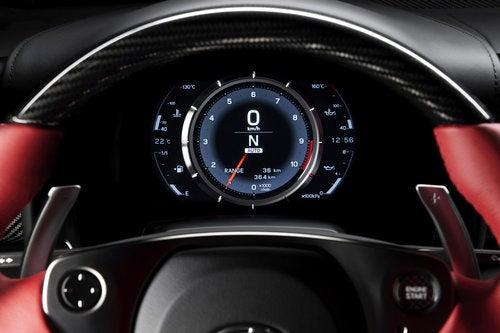 Lexus LFA Interior Review