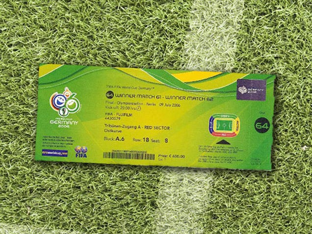 80 Years of World Cup Ticket Designs