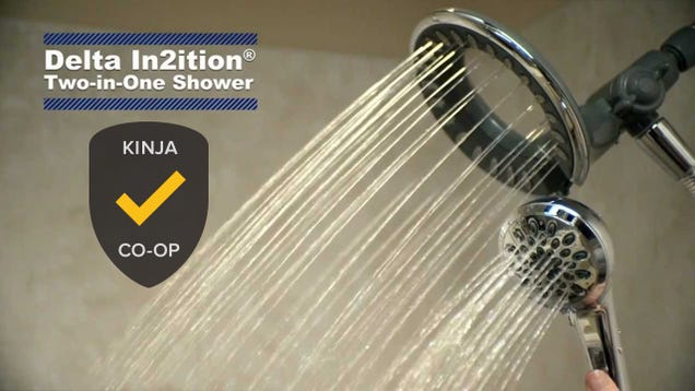 Most Popular Shower Head: Delta In2ition, Plus Alternatives