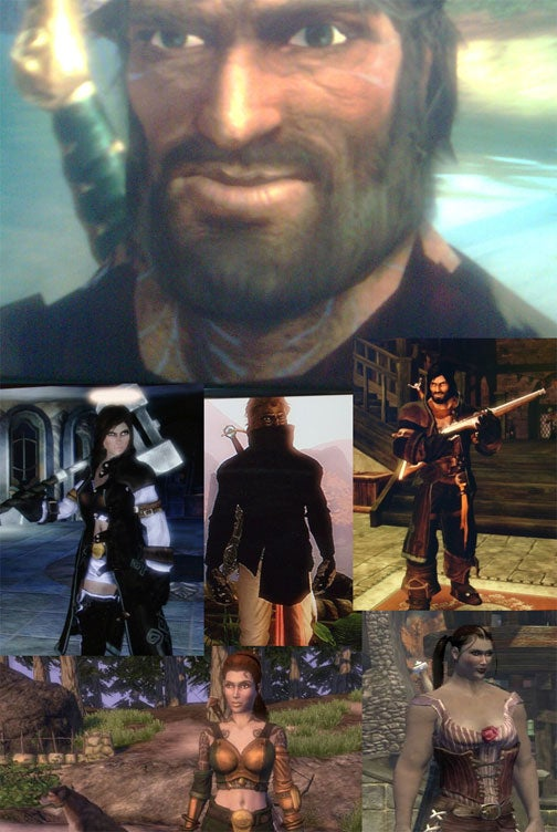 Fable Evil Hero Fable ii Heroes in All Shapes