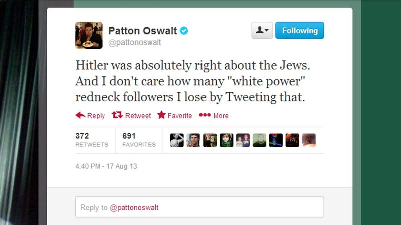 Patton Oswalt Rewrote the Book on Trolling Twitter