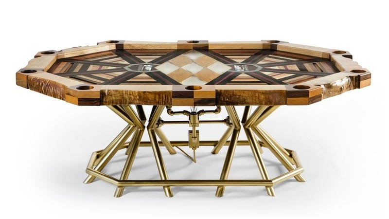 This Beautiful Poker Table Is For Winners Only