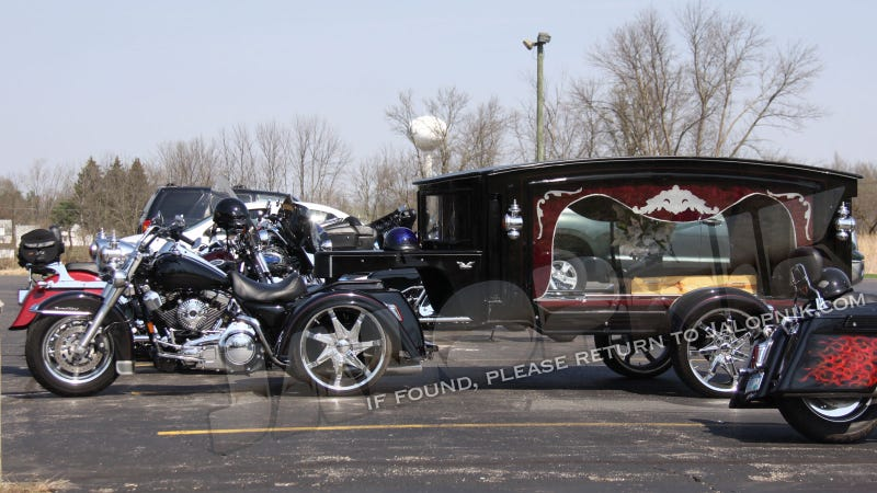 Harley Hearse Gallery